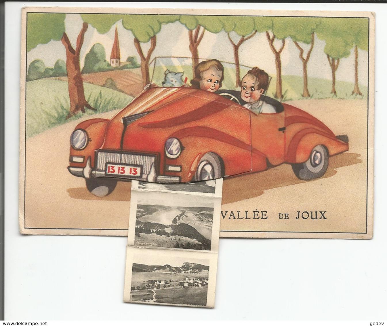 Suisse Vallée De Joux, Balade En Voiture, Carte à Système, 10 Minis Photos (65) - VD Waadt
