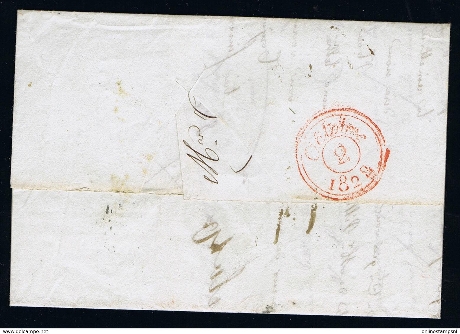 Italy Complete Letter  Porto Maurizio  Par Antibes  CS.2B - Italië