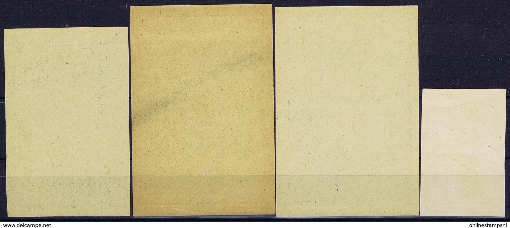Italy  Esperimenti D'Aviazione 1910 Bologna - Piazza D'Armi  4 Pieces - 1900-44 Victor Emmanuel III