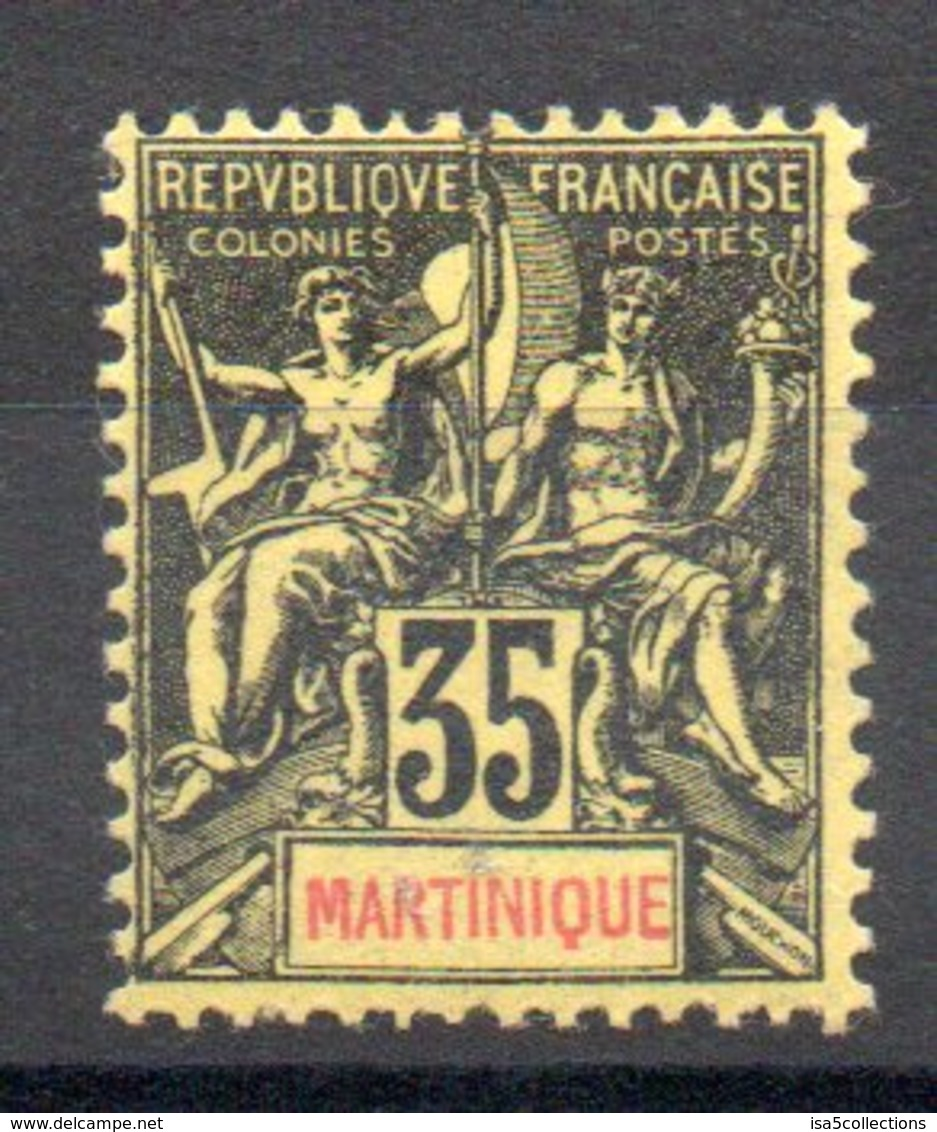 MARTINIQUE - YT N° 48 - Neuf ** - MNH - Cote: 40,00 € - Martinique (1886-1947)