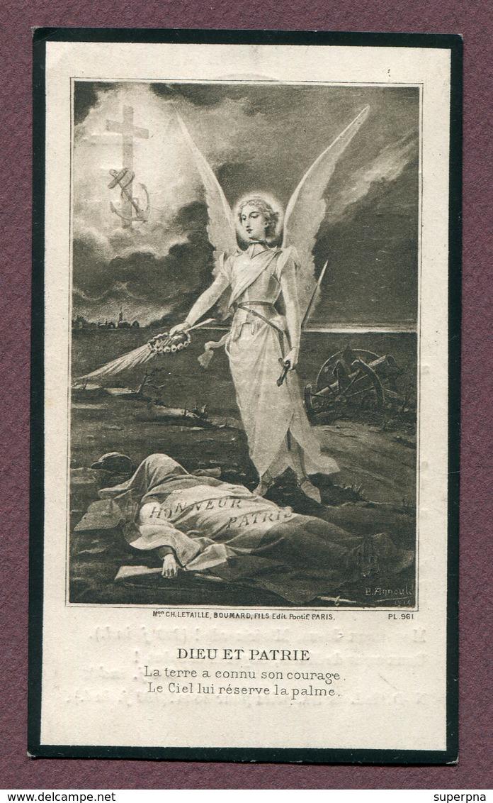 """BLAIRVILLE : """" 268ème Régiment D'Infanterie - Georges VITEAU """"  1915 - Dokumente"""