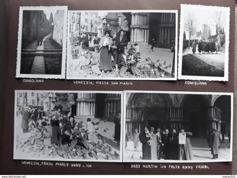 Fotoalbum 1935-1939 - Italien, Österreich, Österreich Im Nazi-Reich - Theaterleben - Albums & Collections