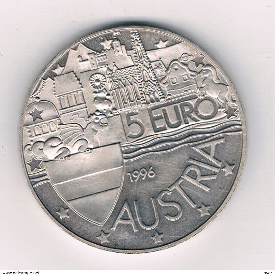 5 EURO 1996 OOSTENRIJK /980/ - Autriche