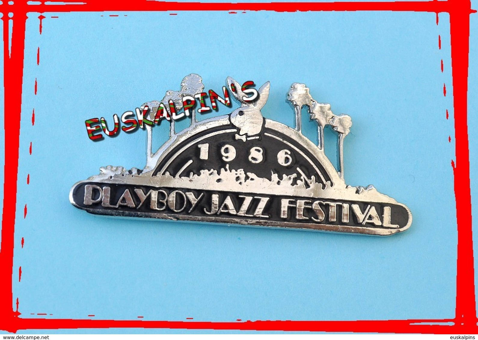 Pin's PLAYBOY JAZZ Festival 1986, LOS ANGELES, U.S.A - Musique