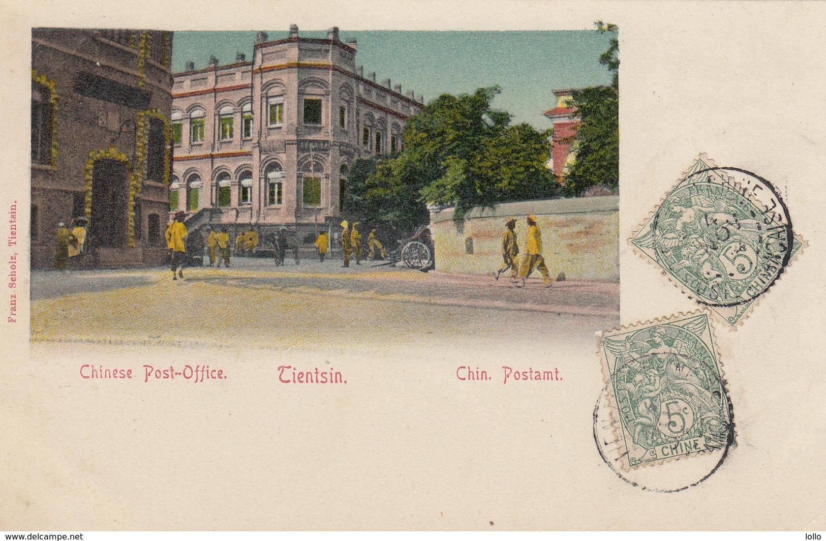 Cina - China - Chine - Tientsin - Chinese Post Office  - Bella - Cina
