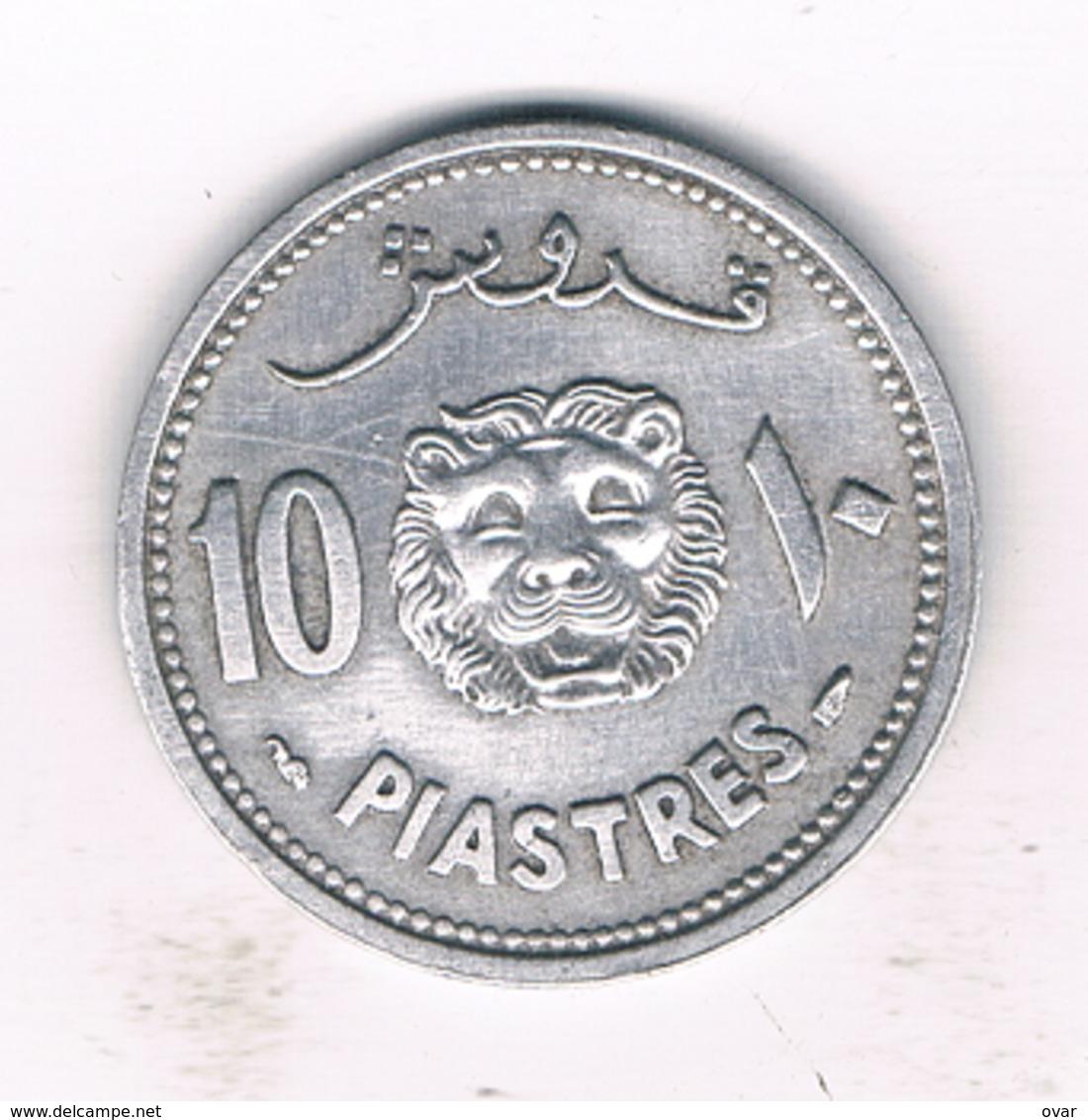 10 PIASTRES 1952 LIBANON /993/ - Liban
