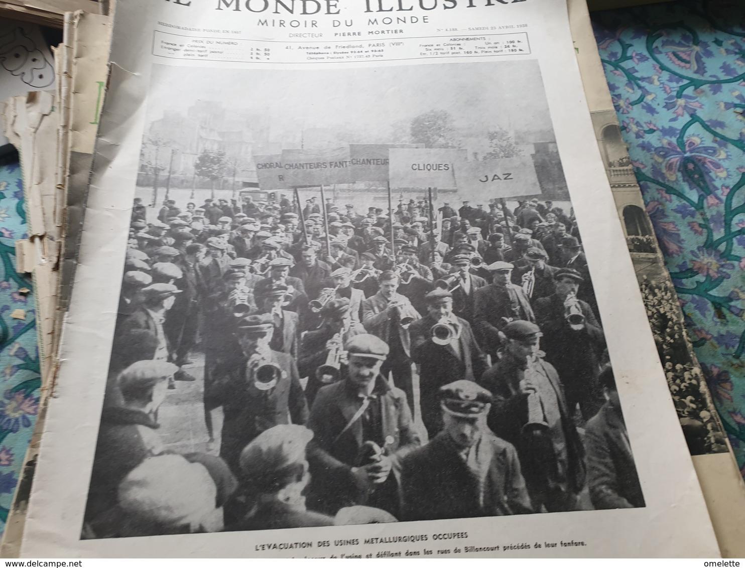 M I 38/ RENAULT BILLANCOURT EVACUATION USINES/INTERMEDES EXOTIQUES PIERRE BENOIT /CHALIAPINE MAURICE DONNAY - 1900 - 1949