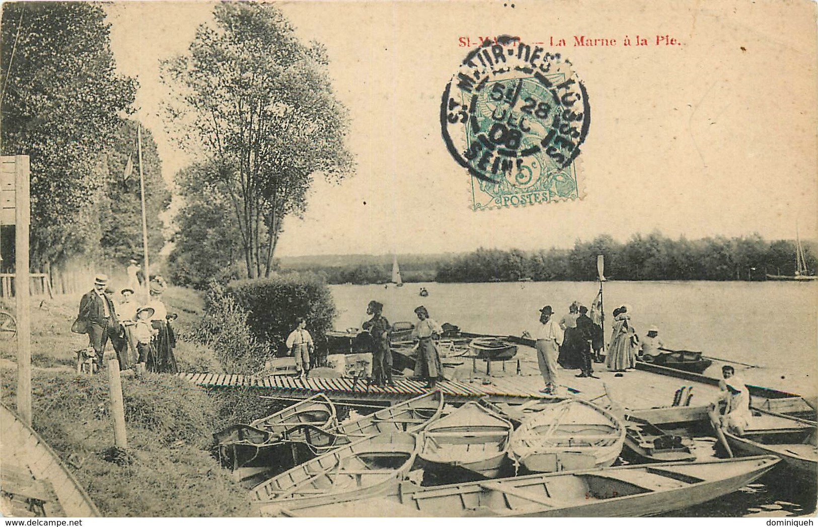 Lot De 50 CPA Du Val De Marne 94 Plusieurs Animations - 5 - 99 Postcards