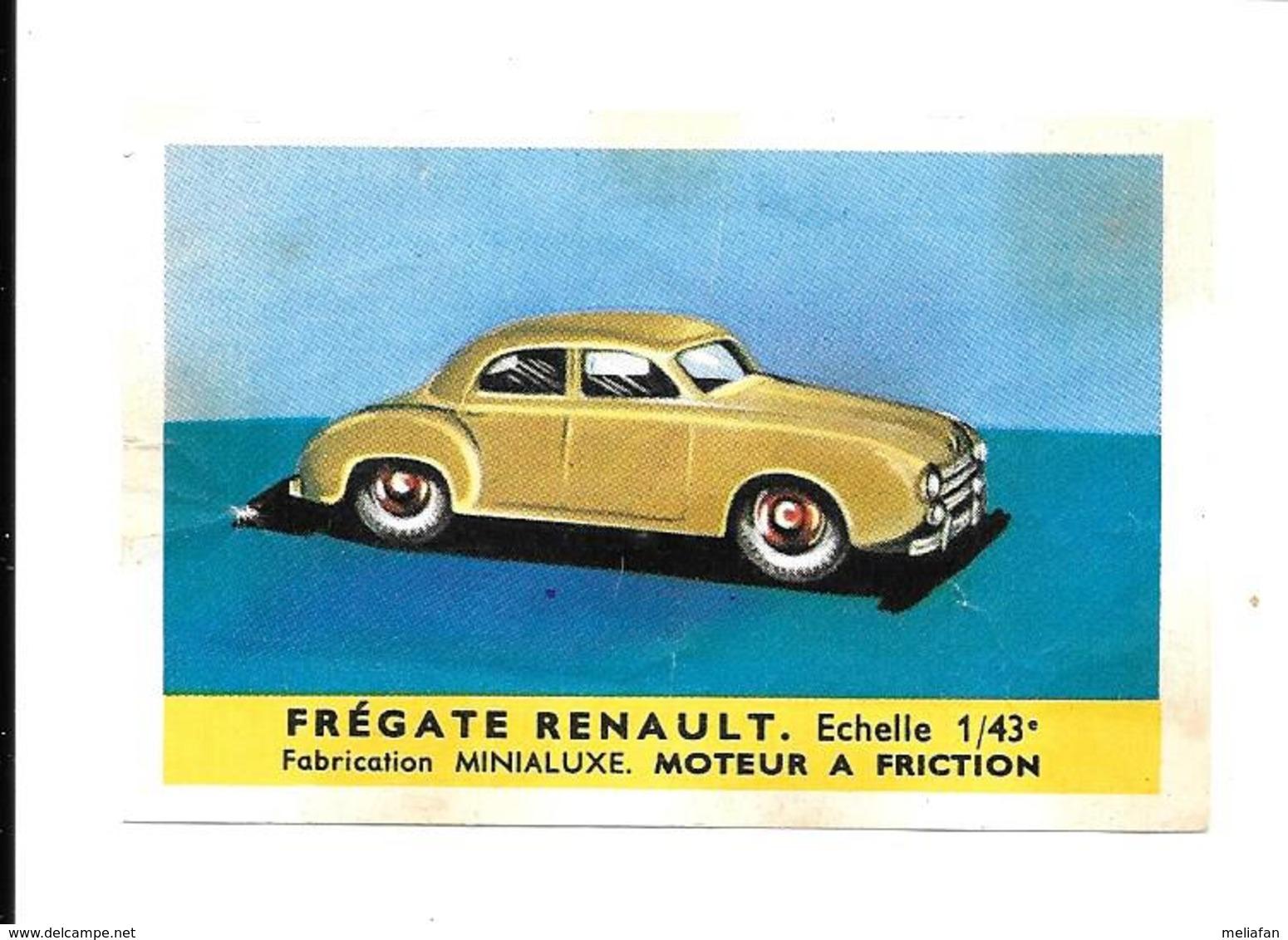 KB1352 - IMAGE CAFESMASDA - RENAULT FREGATE - Coches