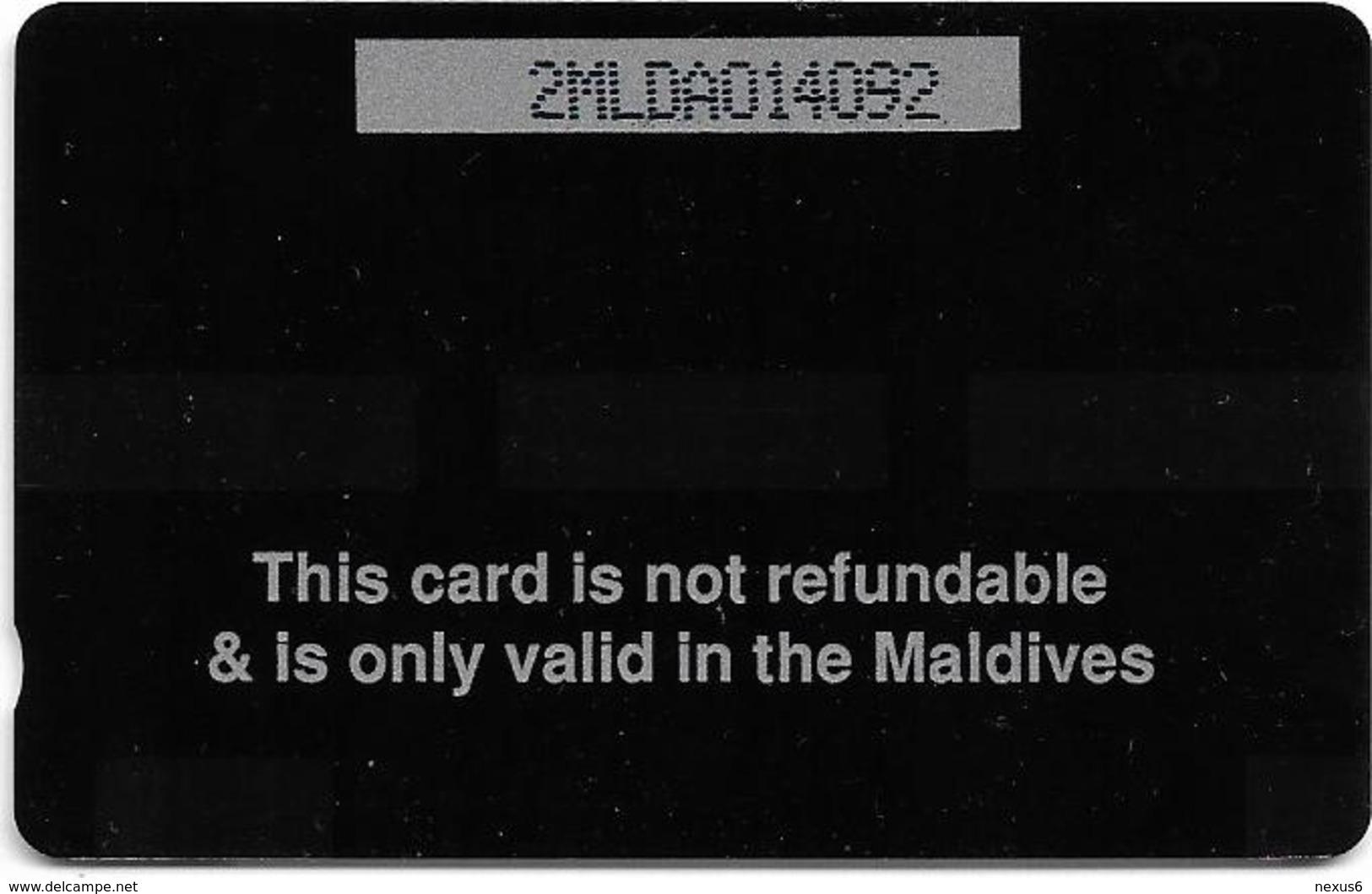 Maldives - Dhiraagu (GPT) - Beach - 2MLDA - 5.000ex, Mint No Blister - Maldiven