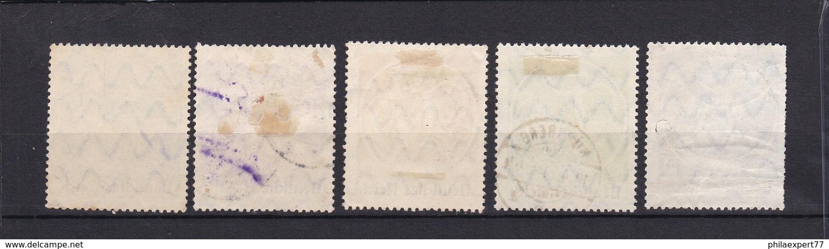 Deutsches Reich - 1920/21 - Michel Nr. 134/138  - Gest. - 73 Euro - Allemagne