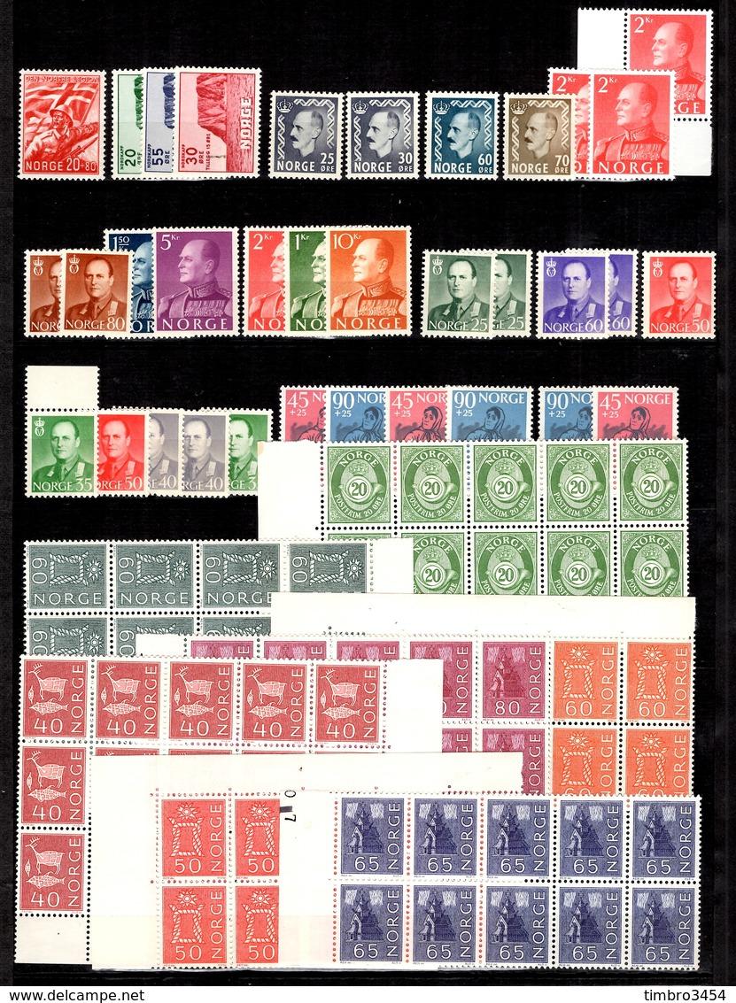 Norvège Belle Collection Neufs ** MNH 1941/1965. Bonnes Valeurs. TB. A Saisir! - Collections