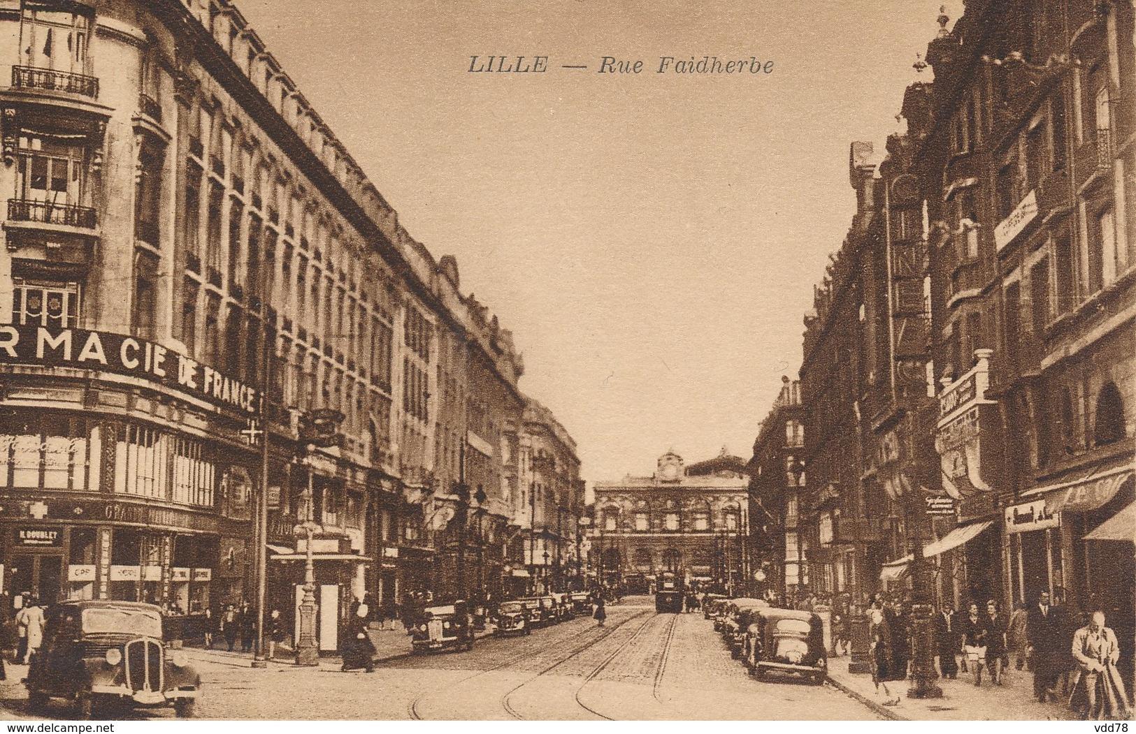 Lille Pollet Années 50 Rue Faidherbe état Neuf - Lille