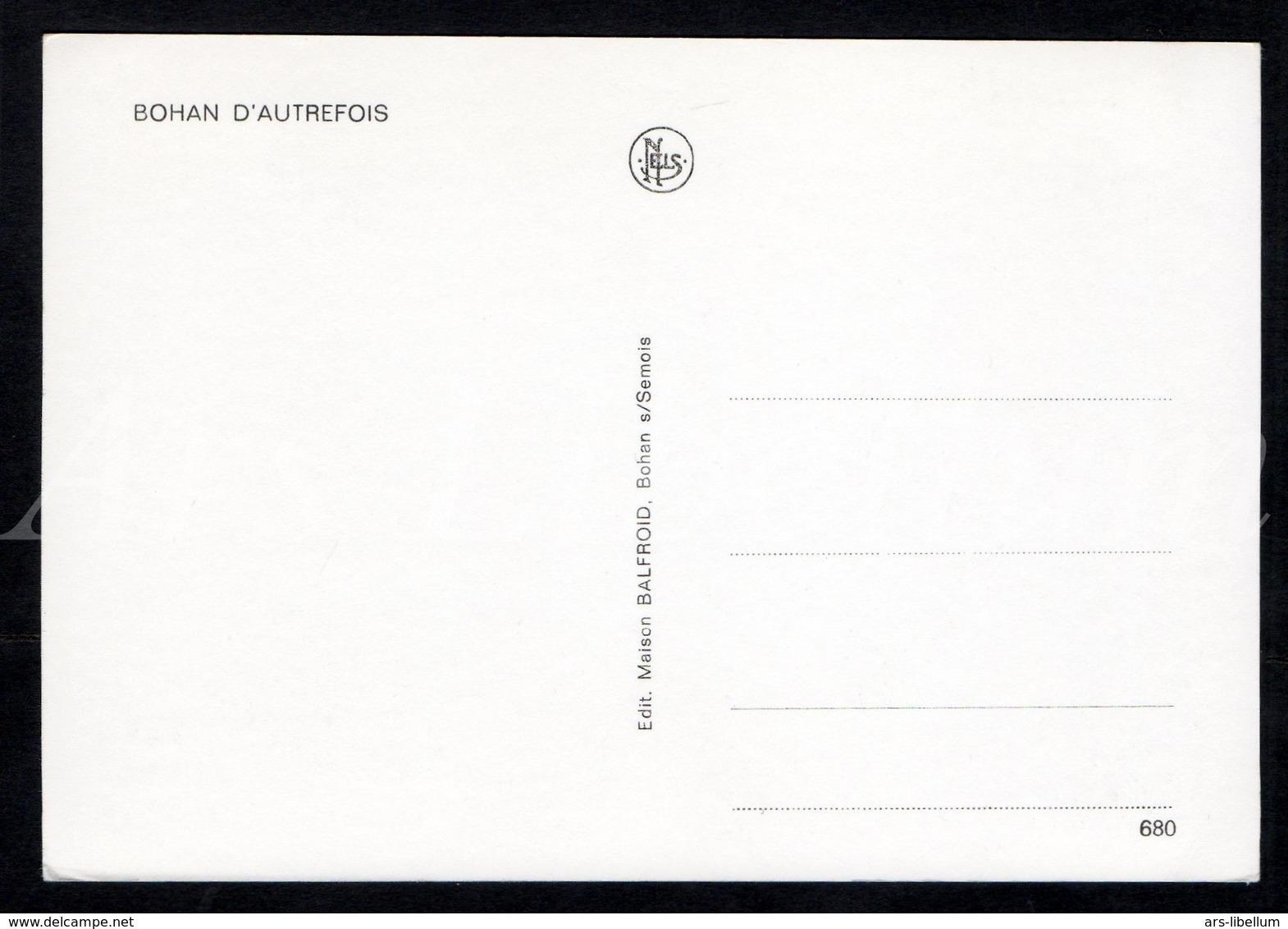 Postkaart / Postcard / CPA / Bohan / Bohan D'Autrefois / Nels / Ed. Maison Balfroid / 2 Scans / Unused - Vresse-sur-Semois