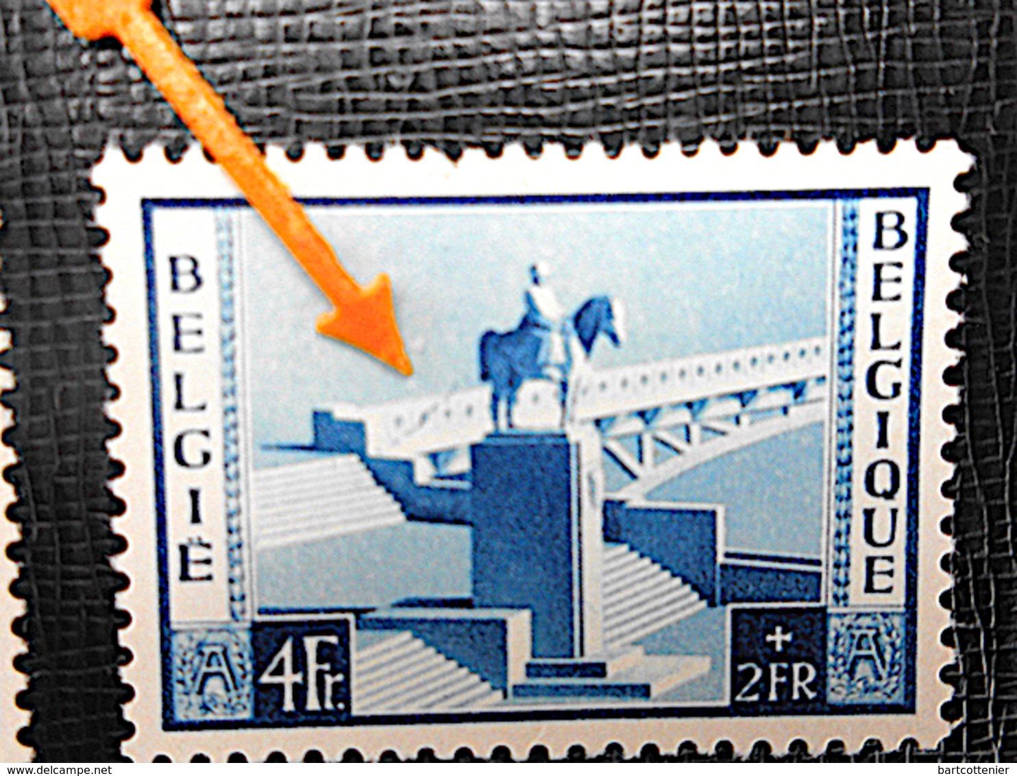 OBP 939** Variëteit + Origineel /Monument Albert I Aan Pont De France, Namur (1954) - Belgique
