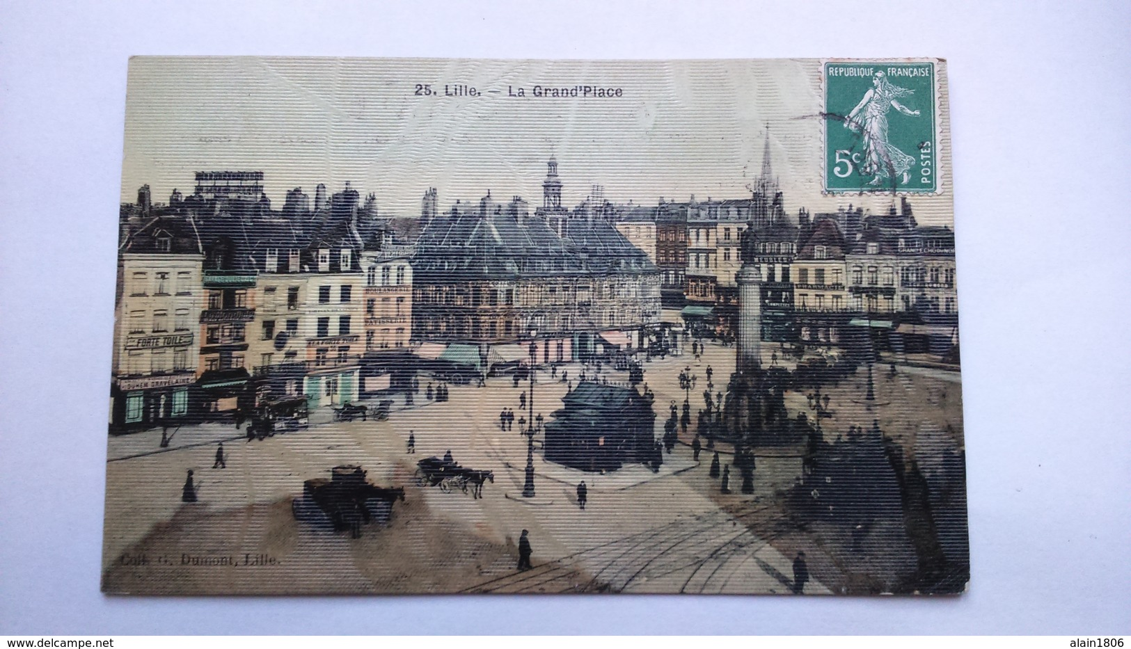 Carte Postale ( BB8 ) Ancienne De Lille ,  La Grand Place - Lille
