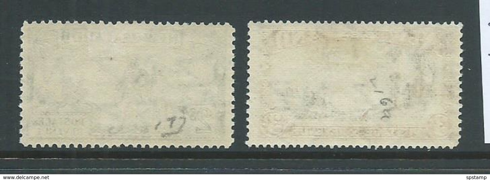 New Zealand 1936 2 Shilling Cook & 3 Shilling Mount Egmont MLH - 1907-1947 Dominion