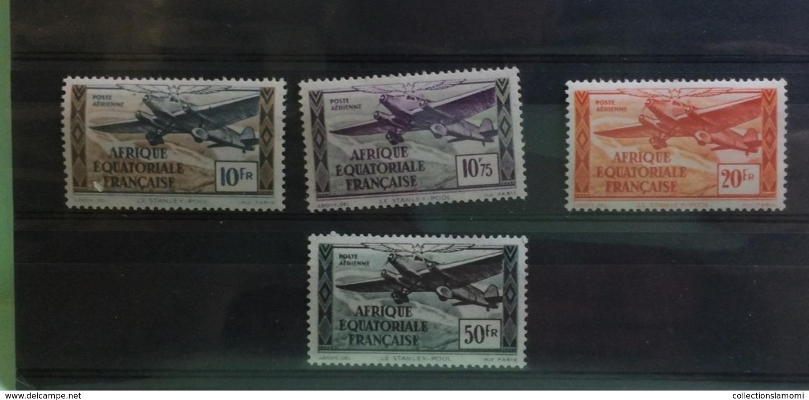Océanie Neuf Avec Charnière 1929 à 1946 Ets Français + Poste Aérienne Voir Photos - Timbres