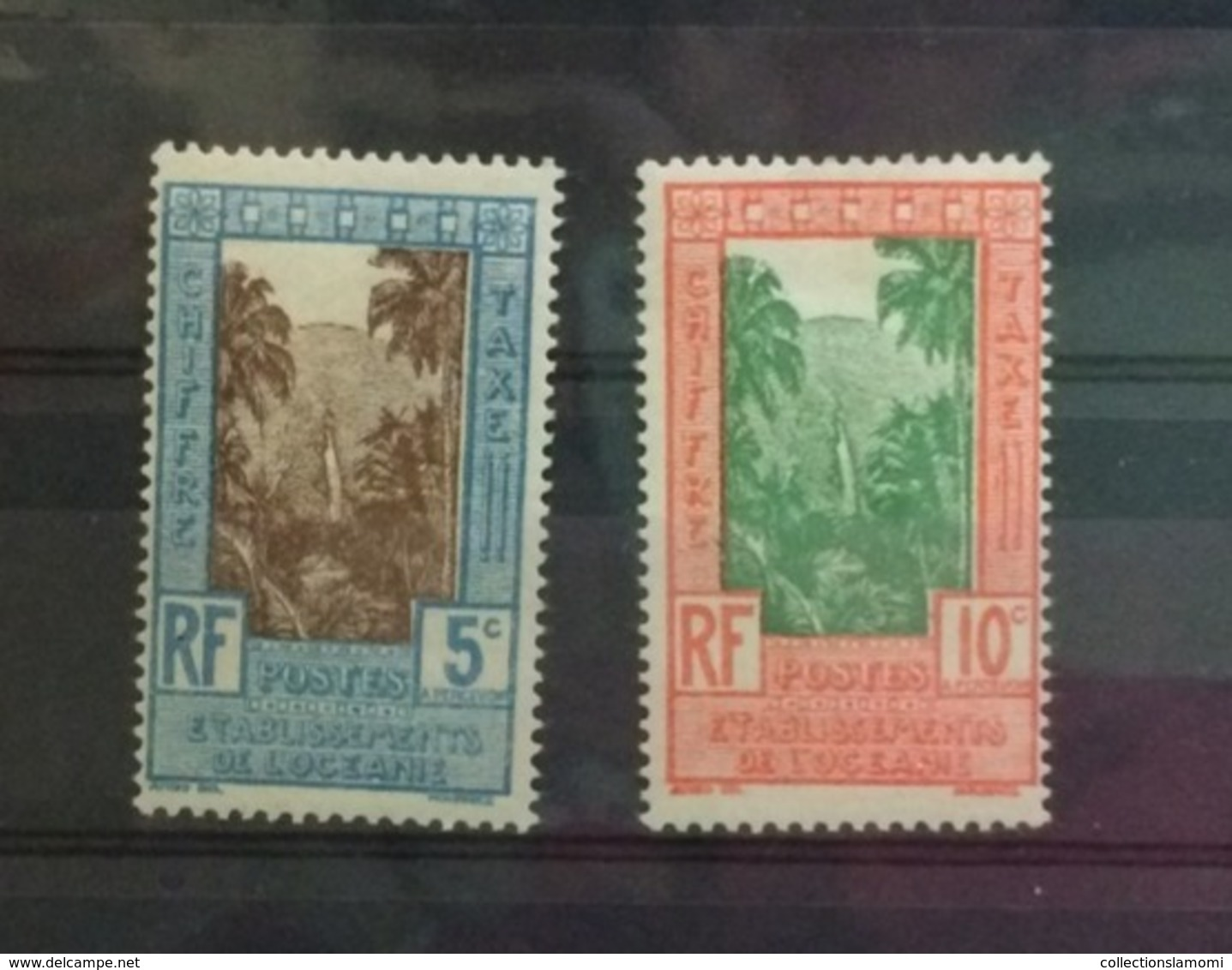 Océanie Neuf Avec Charnière 1929 à 1946 Ets Français + Poste Aérienne Voir Photos - Francobolli