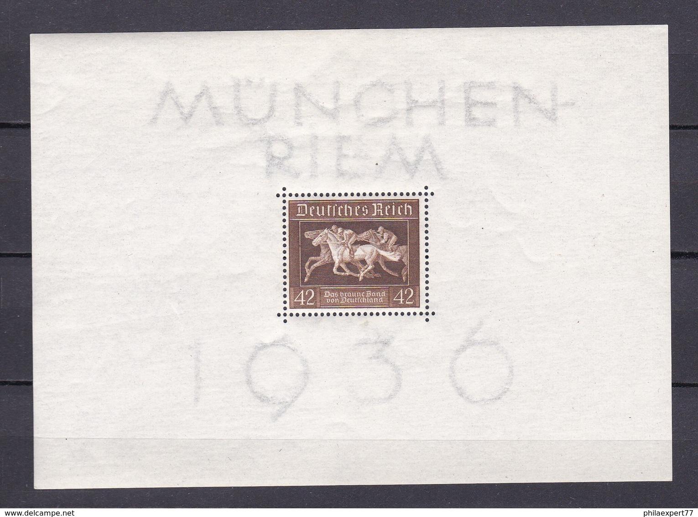Deutsches Reich - 1936 - Michel Nr. Block 4 - Postfrisch - Ungebraucht