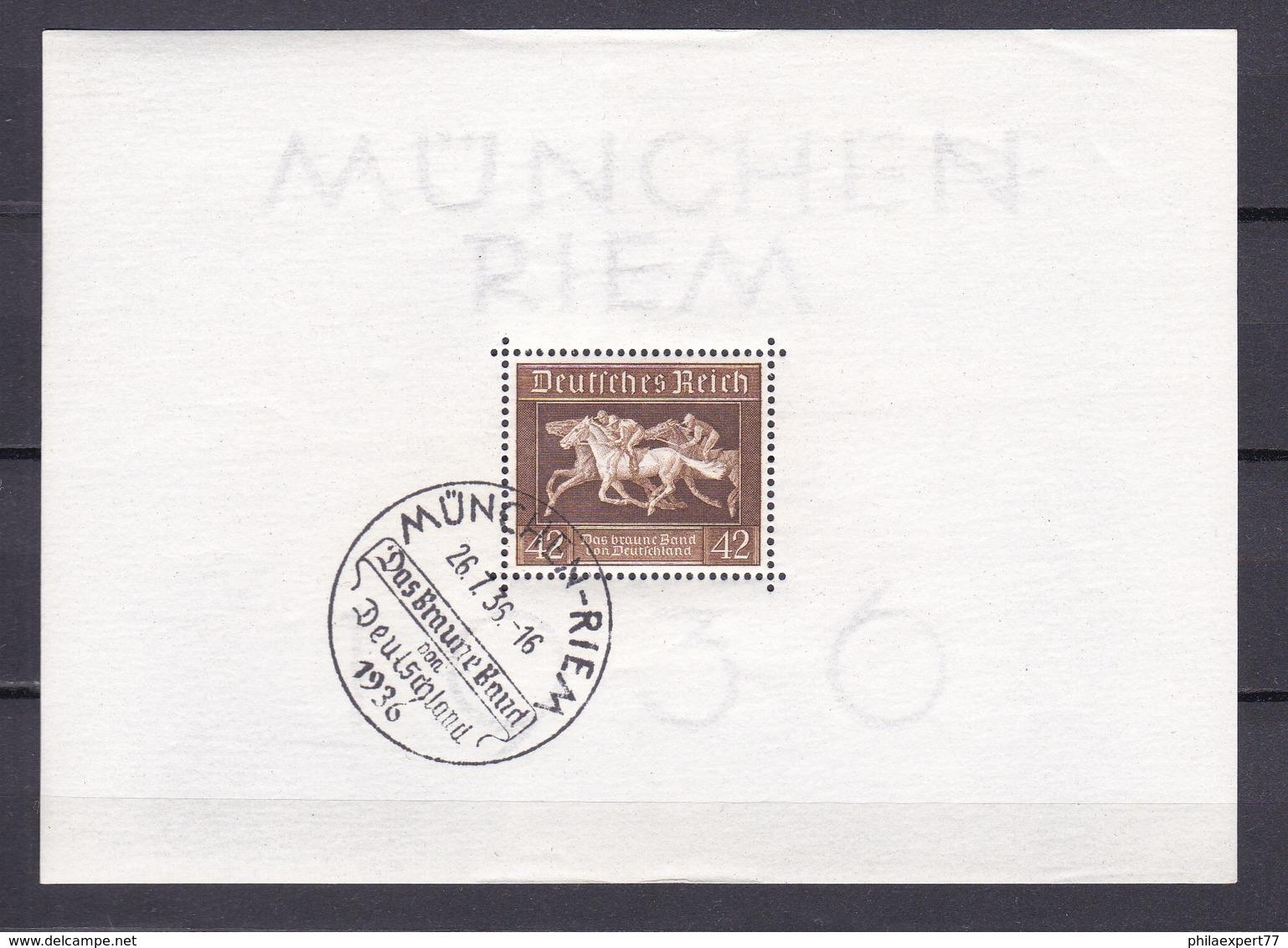 Deutsches Reich - 1936 - Michel Nr. Block 4 - Gest. - Deutschland