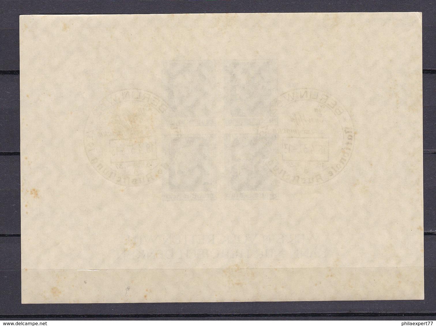 Deutsches Reich - 1937 - Michel Nr. Block 8 - Gest. - Deutschland