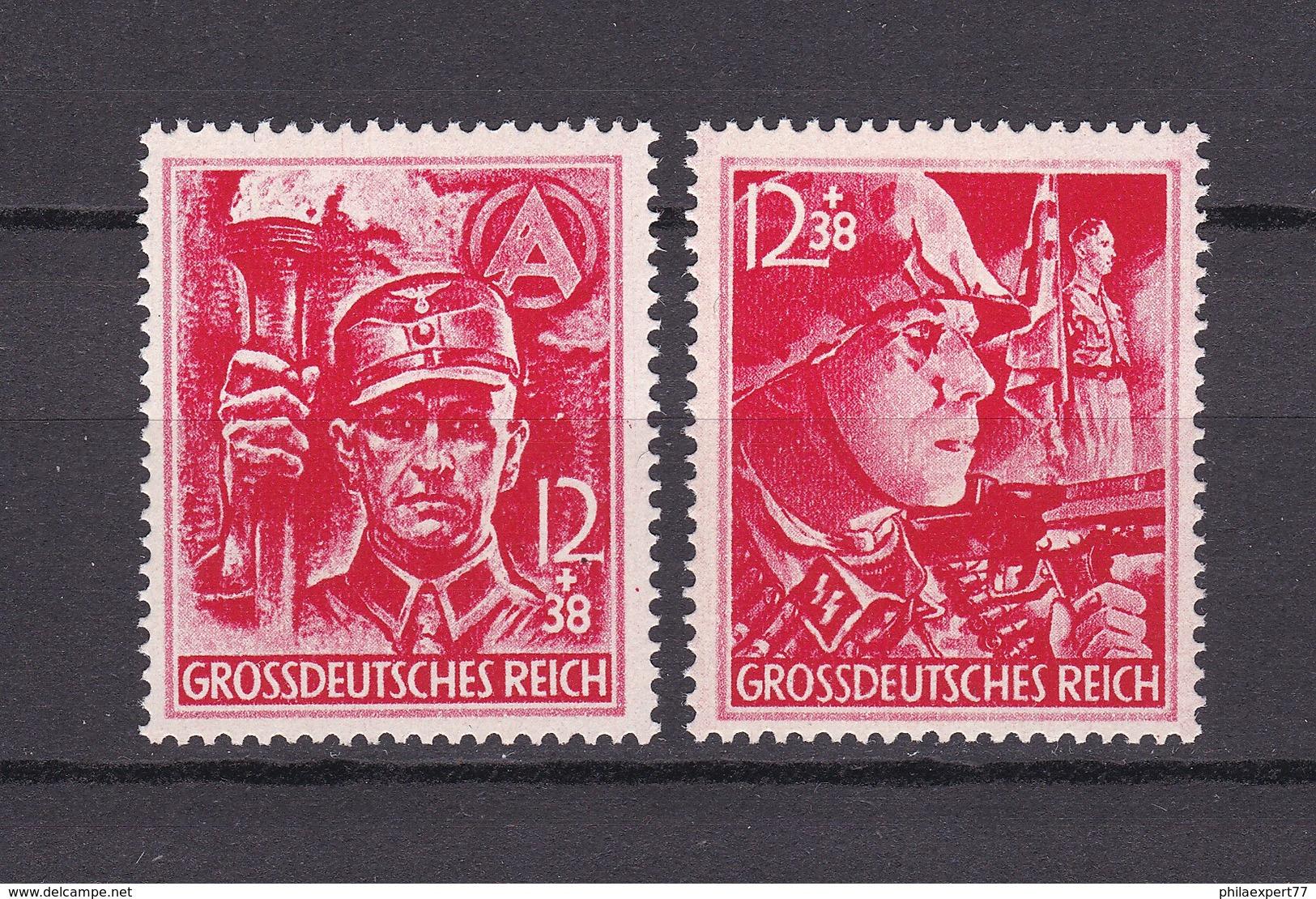 Deutsches Reich - 1945 - Michel Nr.909/910 - Postfrisch - 90 Euro - Ungebraucht