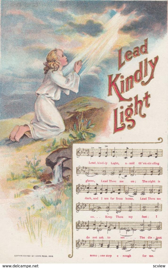 "Song "" Lead Kindly Light "" , 1908 - Musica E Musicisti"