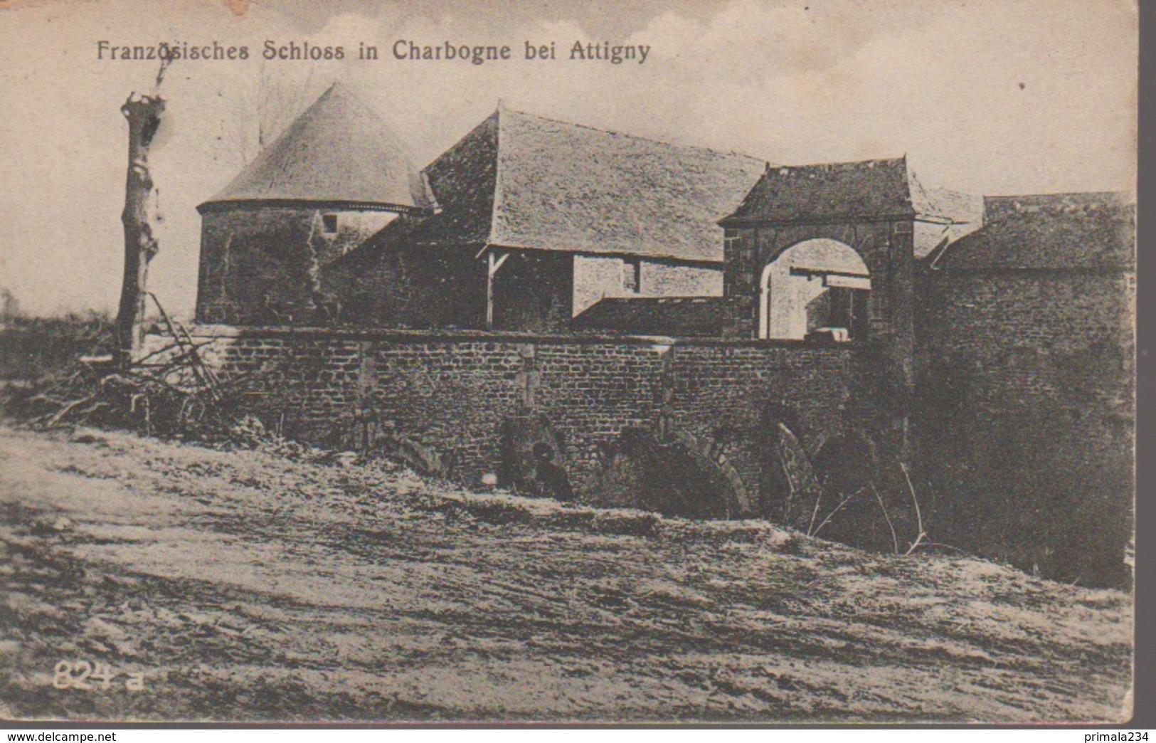 CHARBOGNE - CHATEAU - France