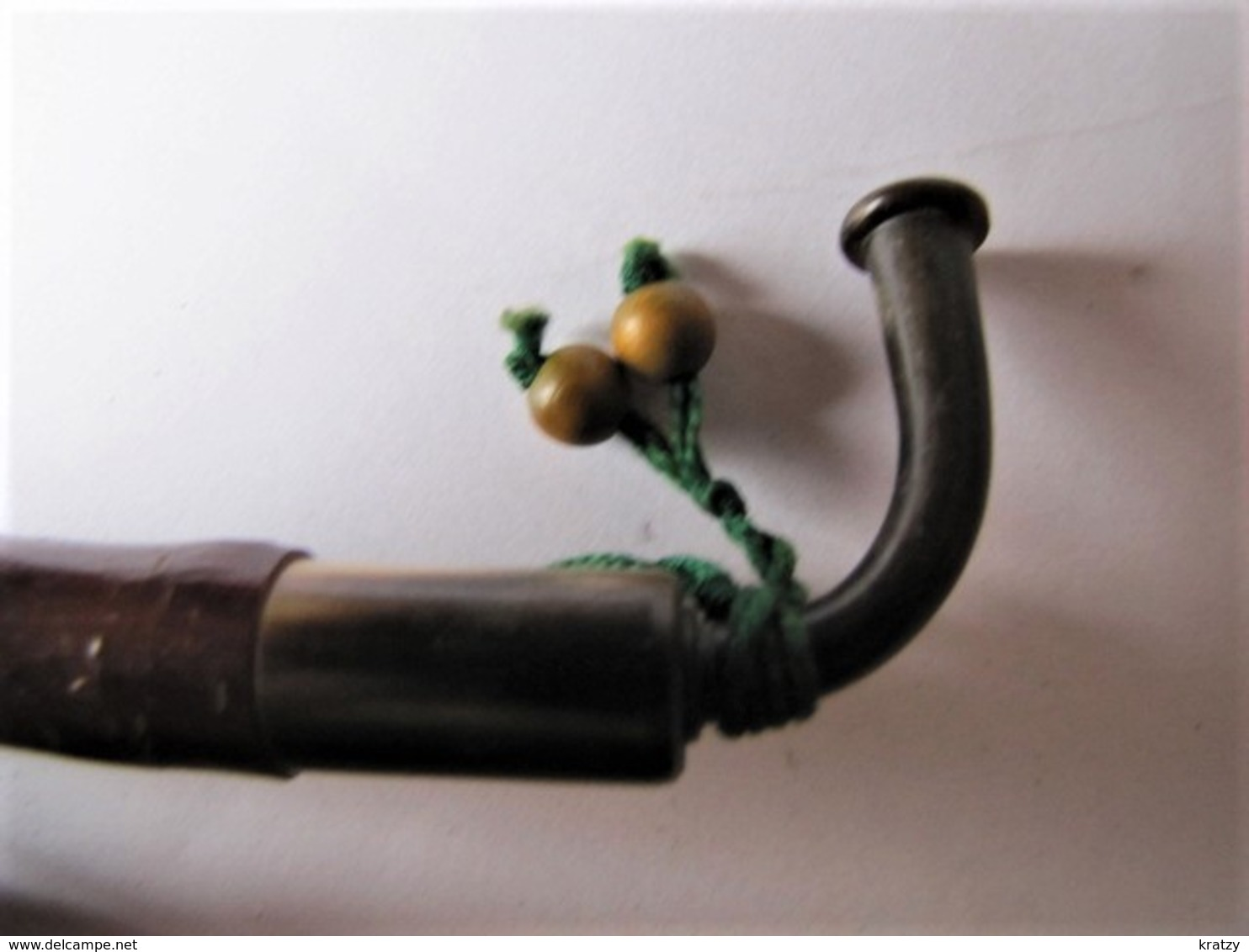 PIPE EN BRUYERE - Décorée - 16 Cm. - Pipes En Bruyère