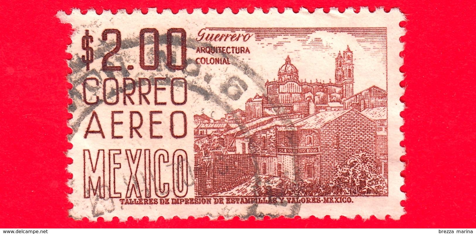 MESSICO - Usato - 1962 - Architettura Coloniale - Chiesa Di Santa Prisca, Guerrero  - 2.00 - Messico