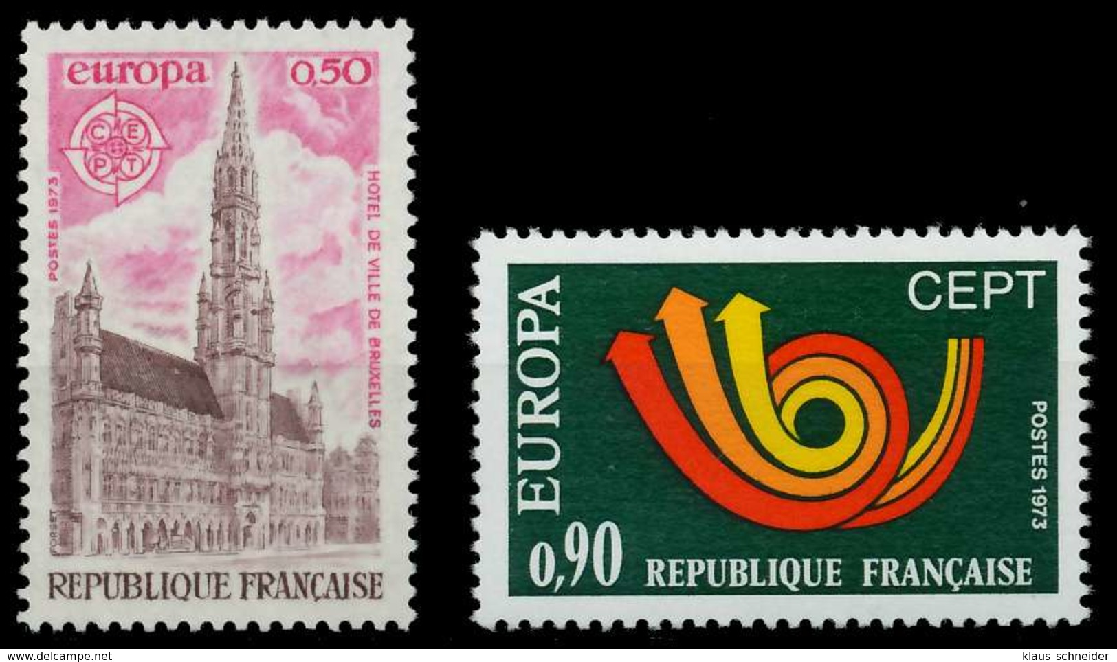 FRANKREICH 1973 Nr 1826-1827 Postfrisch S7D9D7A - Ungebraucht