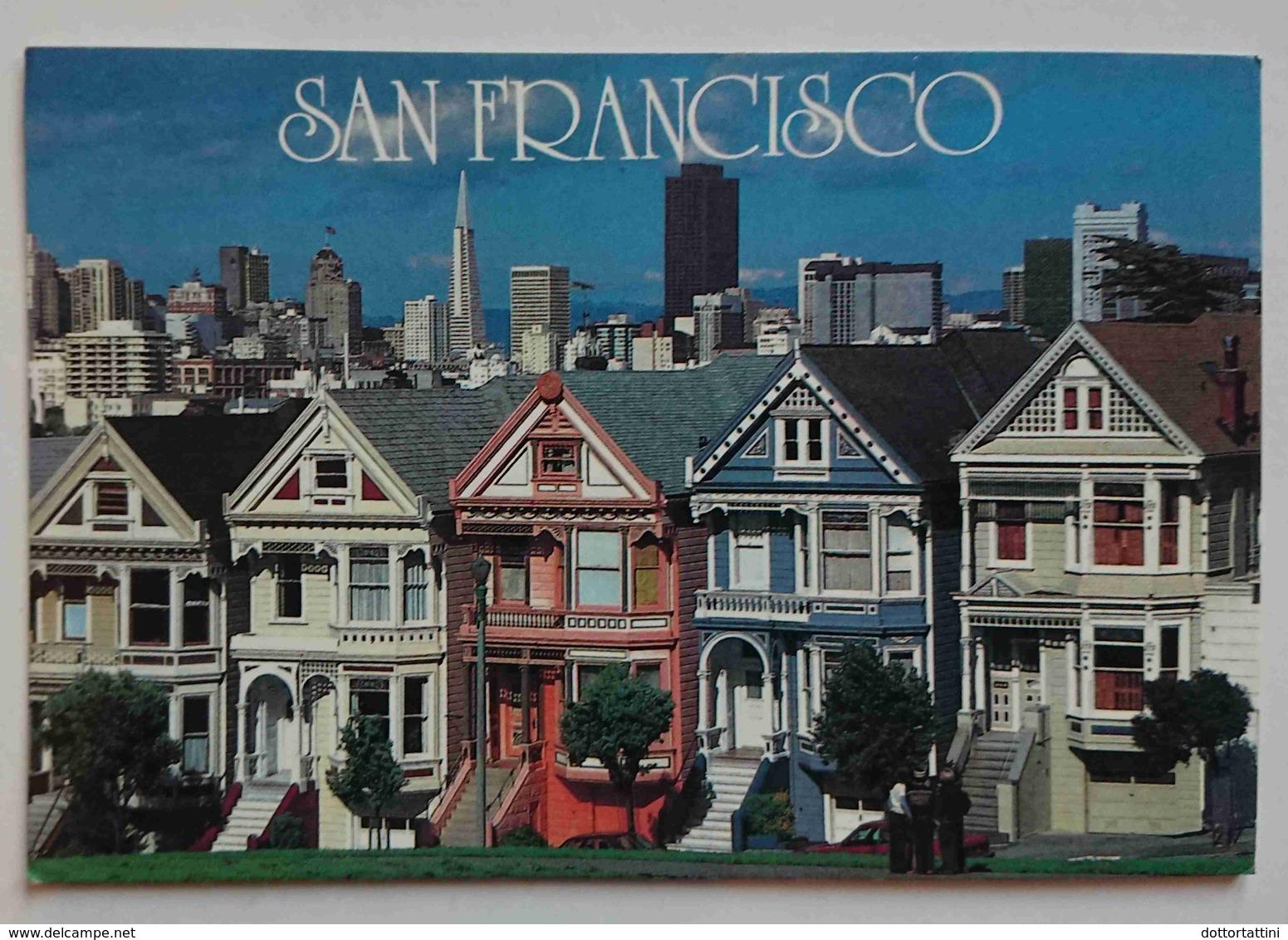 SAN FRANCISCO - Victorian Homes Line Steiner Street   - Vg - San Francisco