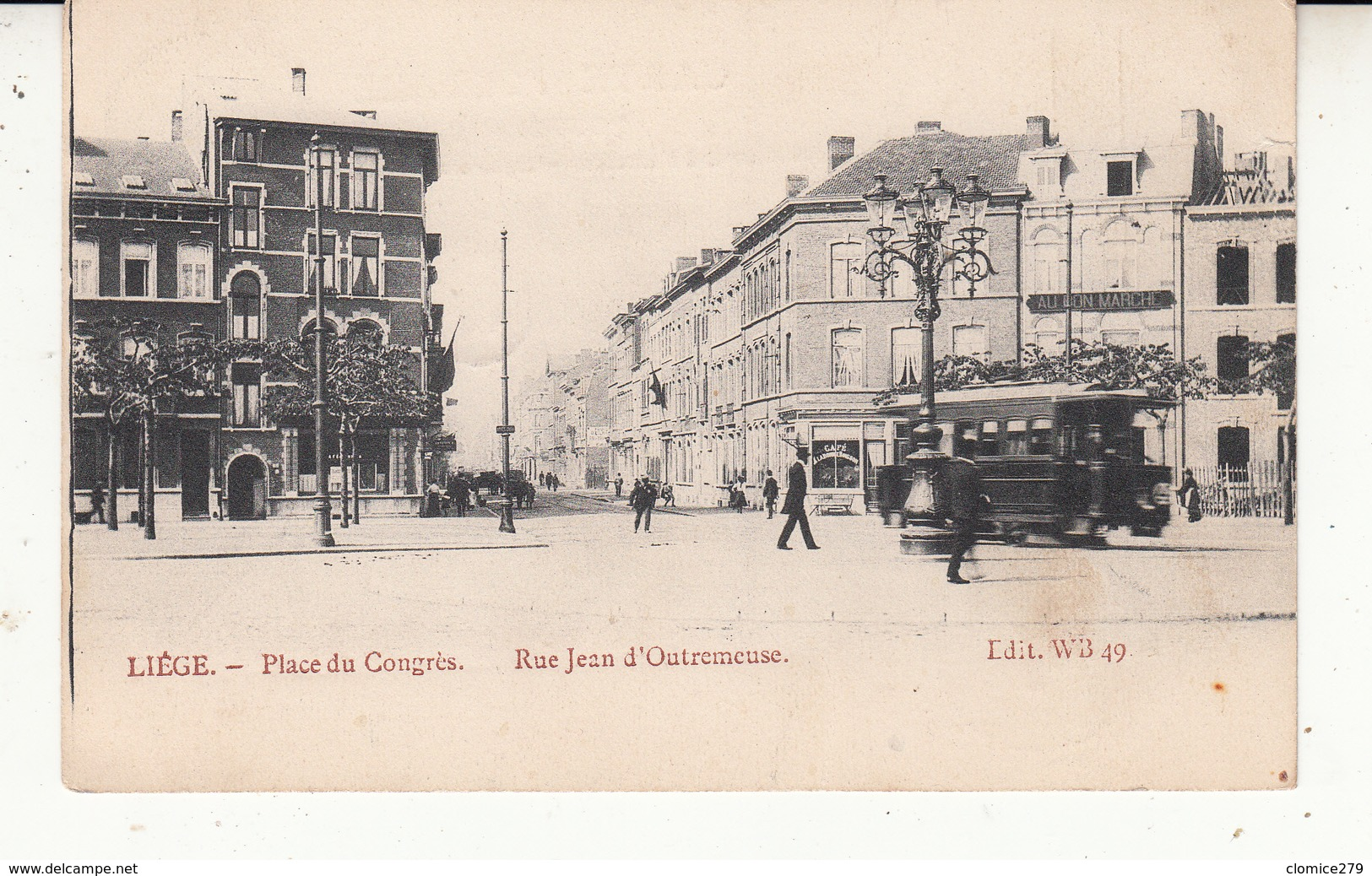 Carte Liège - Luik