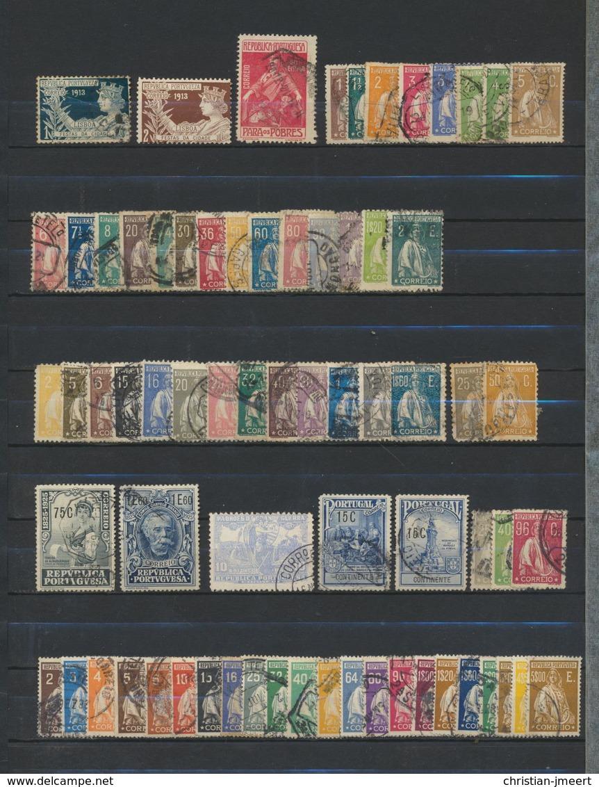 PORTUGAL Grosse Collection - Voir état Sur 18 Scans  679 Timbres Diff. Très Fort Soigné - Portugal