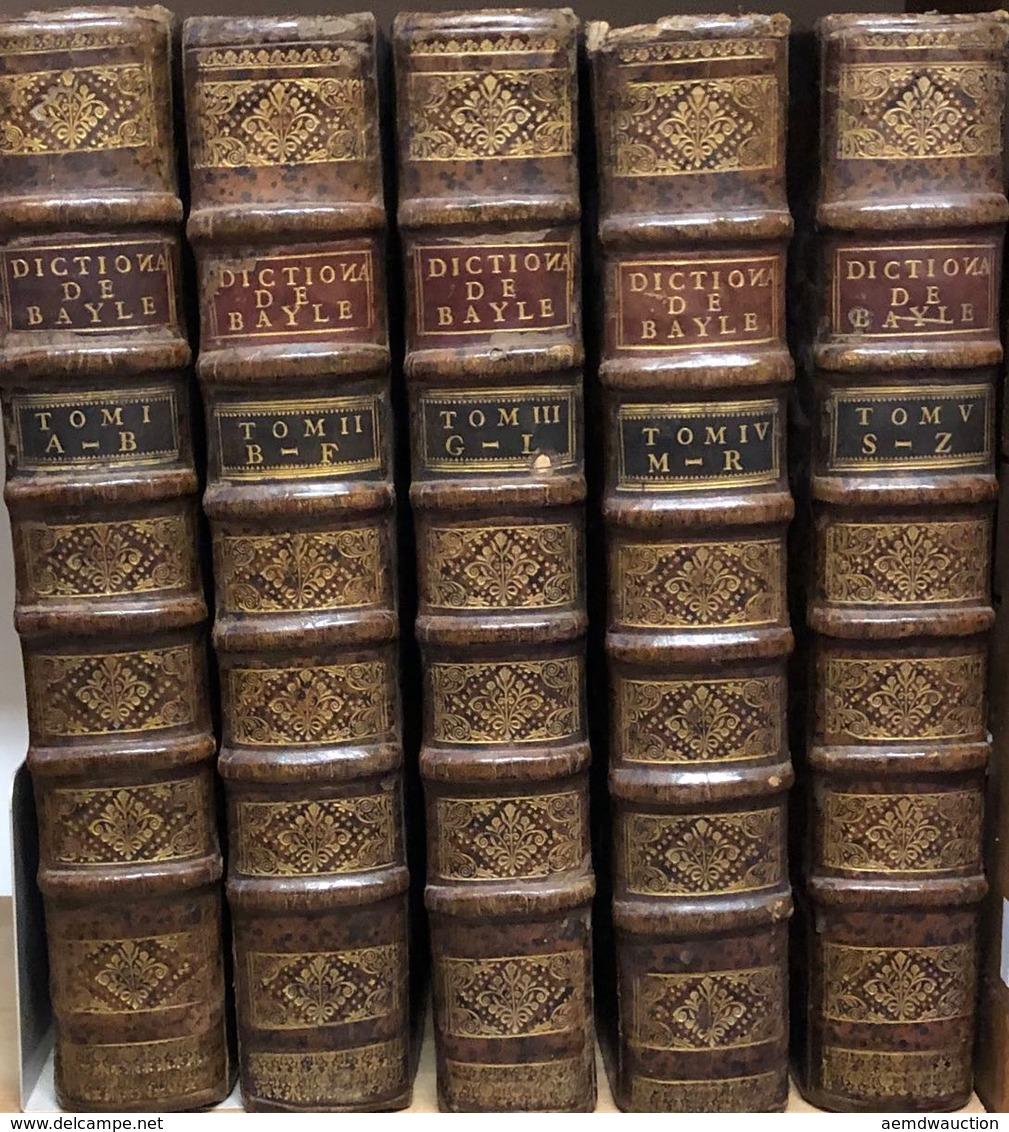 Pierre BAYLE - Dictionaire [sic] Historique Et Critique - Boeken, Tijdschriften, Stripverhalen