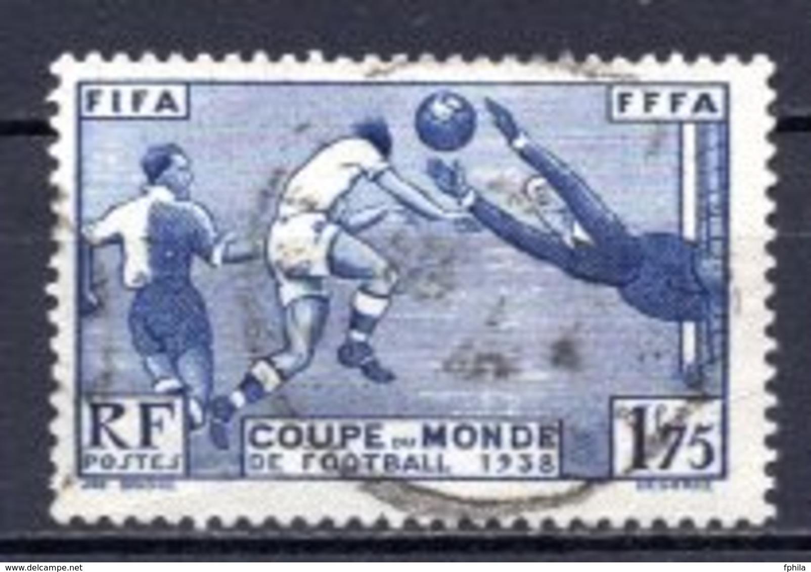 1938 FRANCE FIFA WORLD CUP FOOTBALL SOCCER MICHEL: 427 USED - Frankreich