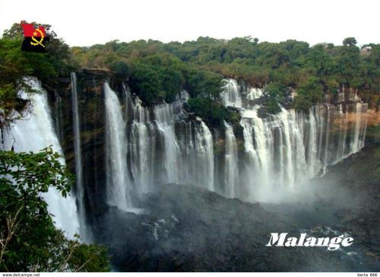 Angola Malange Kalandula Waterfalls New Postcard - Angola