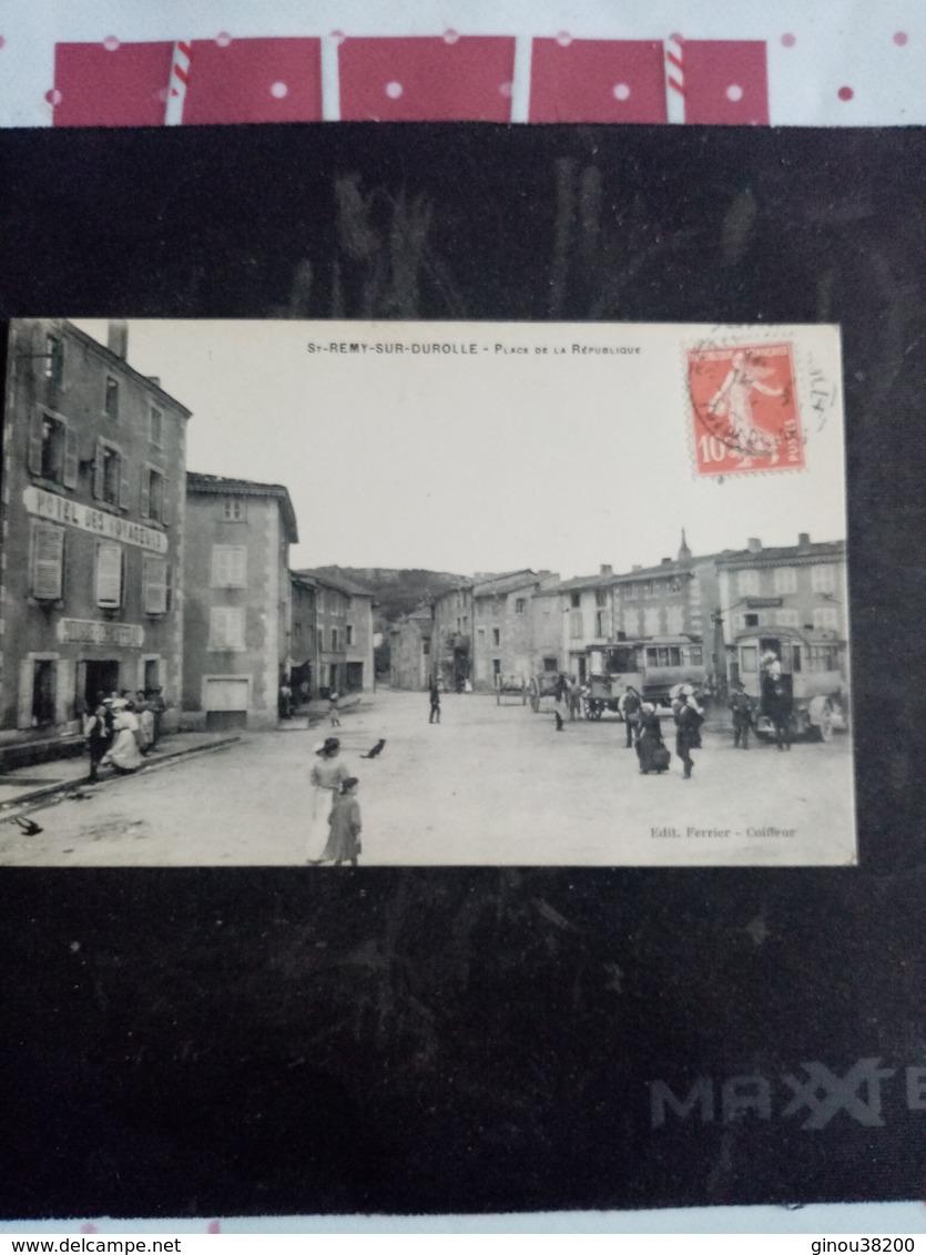 A1: ST-REMY-SUR-DUROLLE-place De La République (belle Animation, Autobus) - Autres Communes