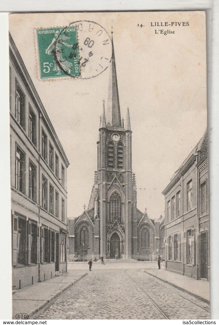 59 - LILLE FIVES - L'Eglise - Lille