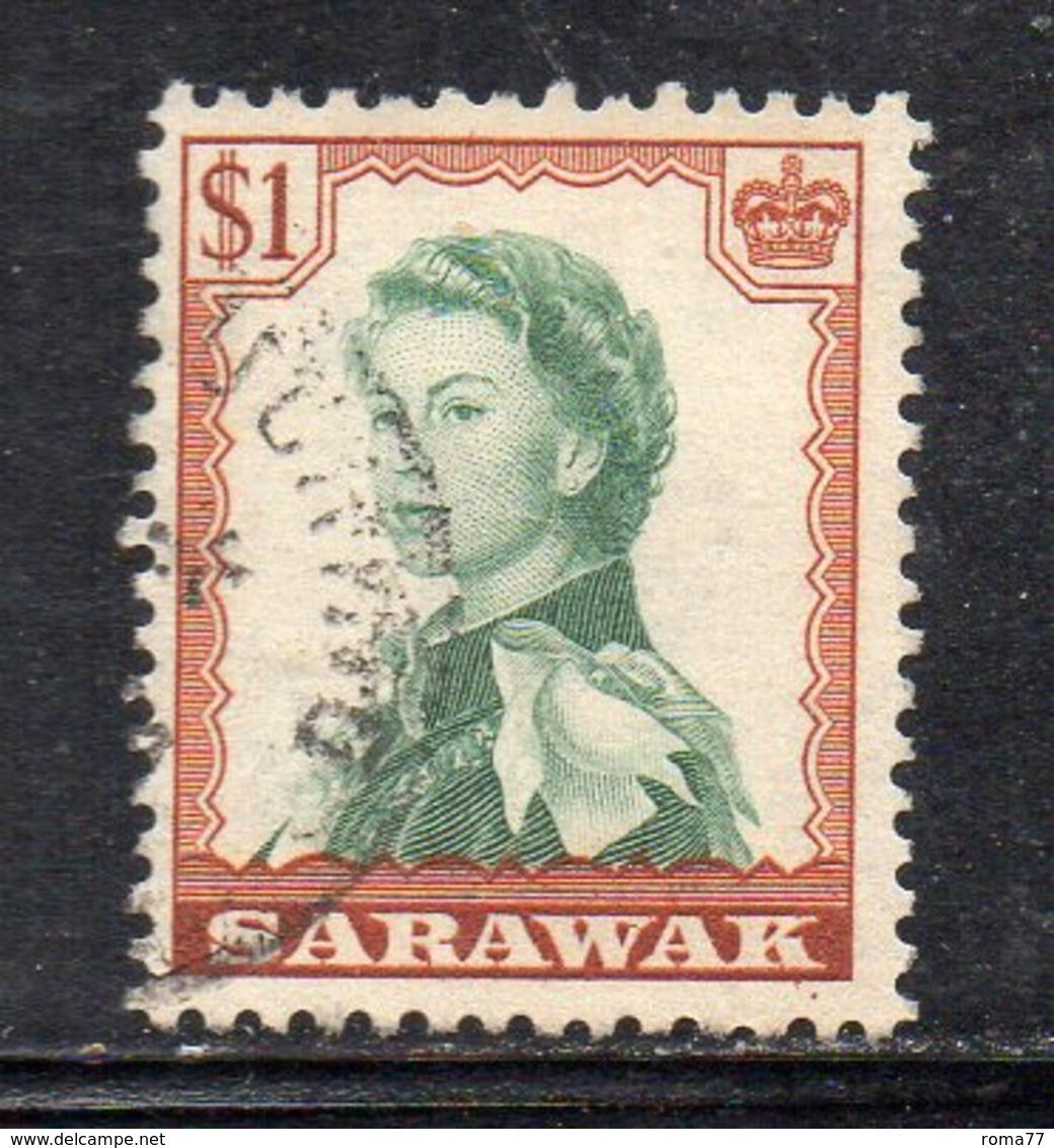 Y2180 - SARAWAK 1955 ,  Yvert N. 201  Usato  (2380A) - Sarawak (...-1963)