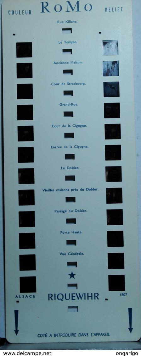 ROMO :    1507   RIQUEWIHR - Visionneuses Stéréoscopiques
