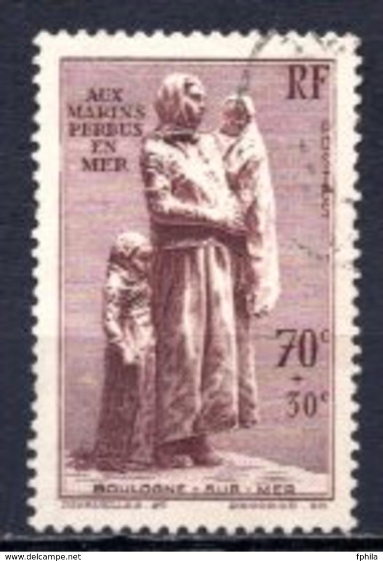 1939 FRANCE MARINER MEMORIAL MICHEL: 462 USED - Gebraucht