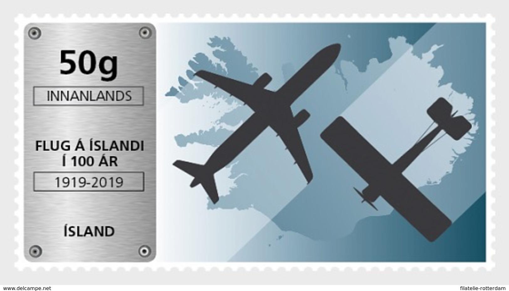 IJsland / Iceland - Postfris / MNH - Luchtvaart In IJsland 2019 - Ongebruikt