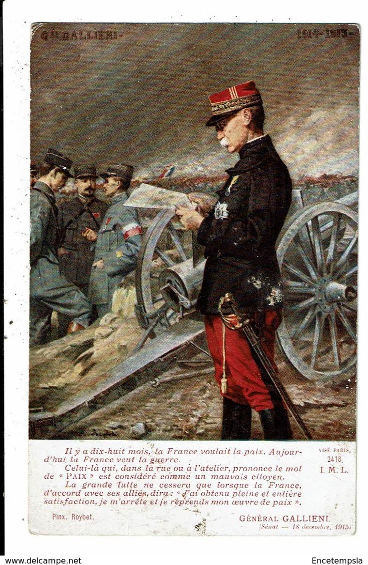 CPA Carte Postale-France-Général Galliéni Bataille De La Marne 1914- VM12850 - Personen
