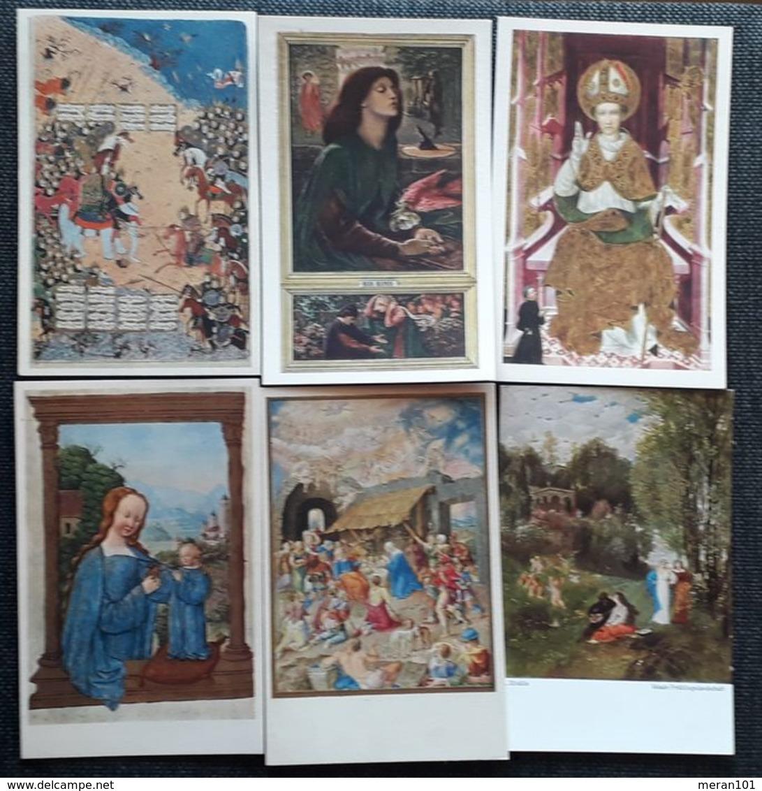 Österreich/Deutschland 1910-1930 - Partie Von 191 Kunstkarten, Ungebraucht - Postcards