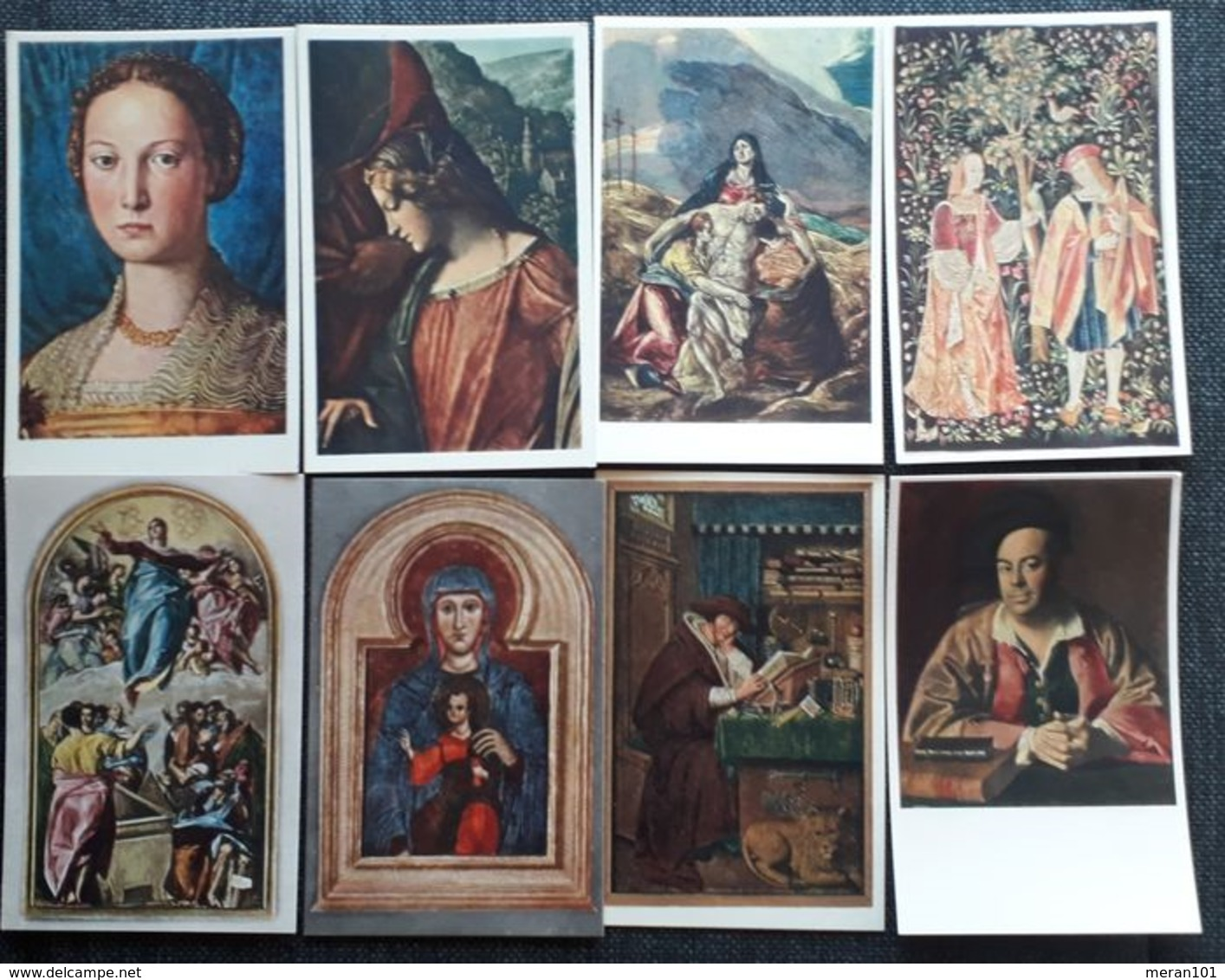 Österreich/Deutschland 1910-1930 - Partie Von 191 Kunstkarten, Ungebraucht - Cartes Postales