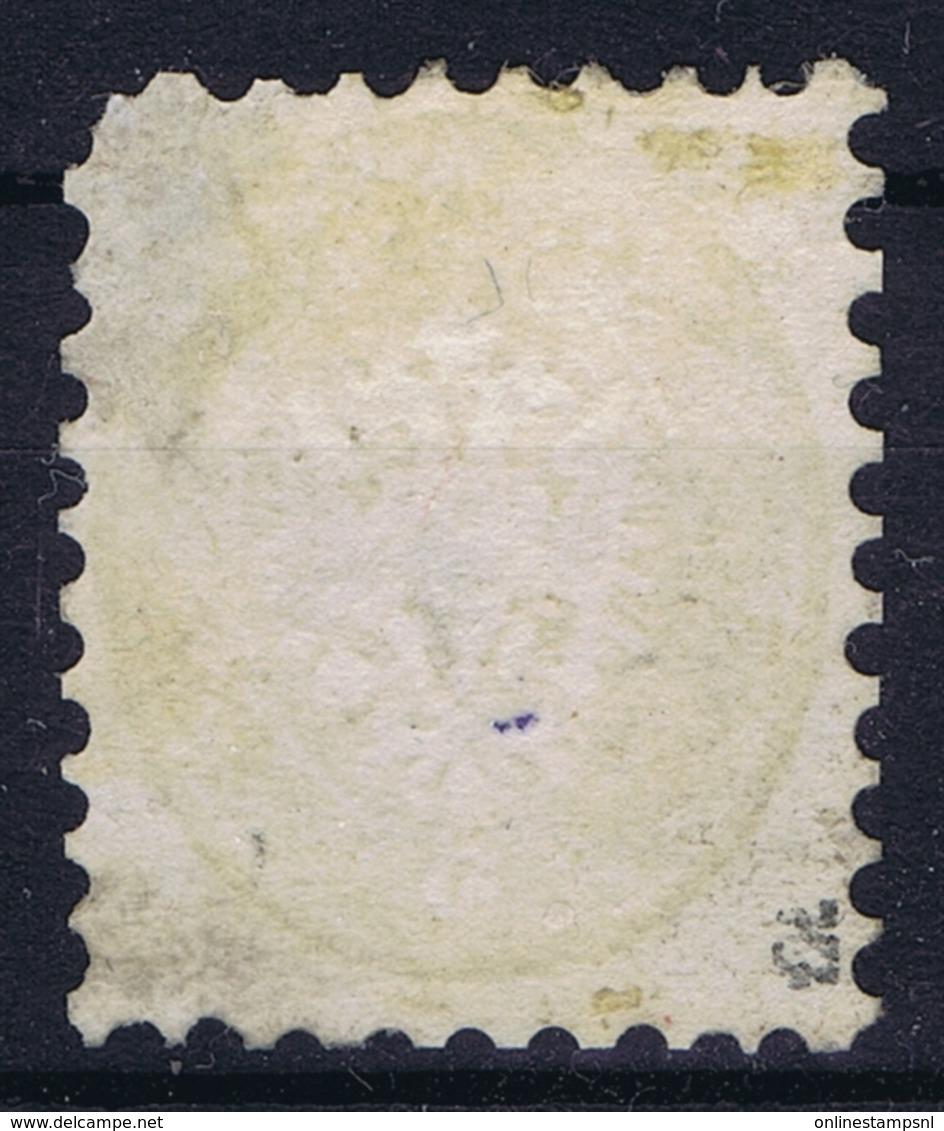 Lombardo-Veneto Sa 41 Mi 19 Used Obl. 1864 Used In Levant CDS Alexandria Egypt - Lombardije-Venetië