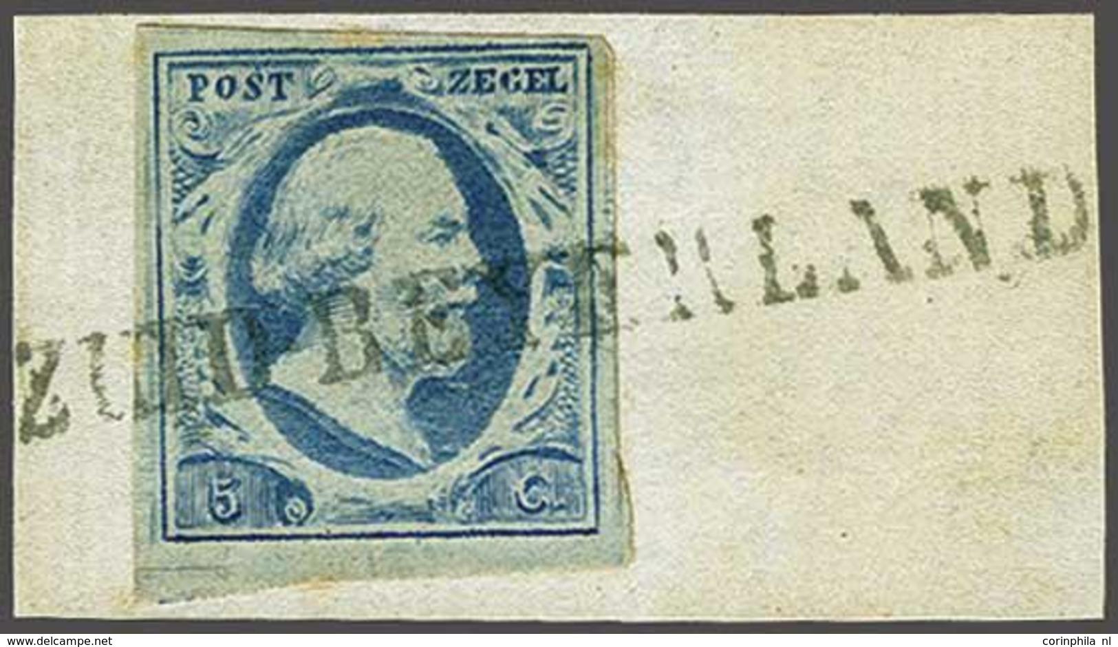 NL 1852 Oblong Stamp - Stamps