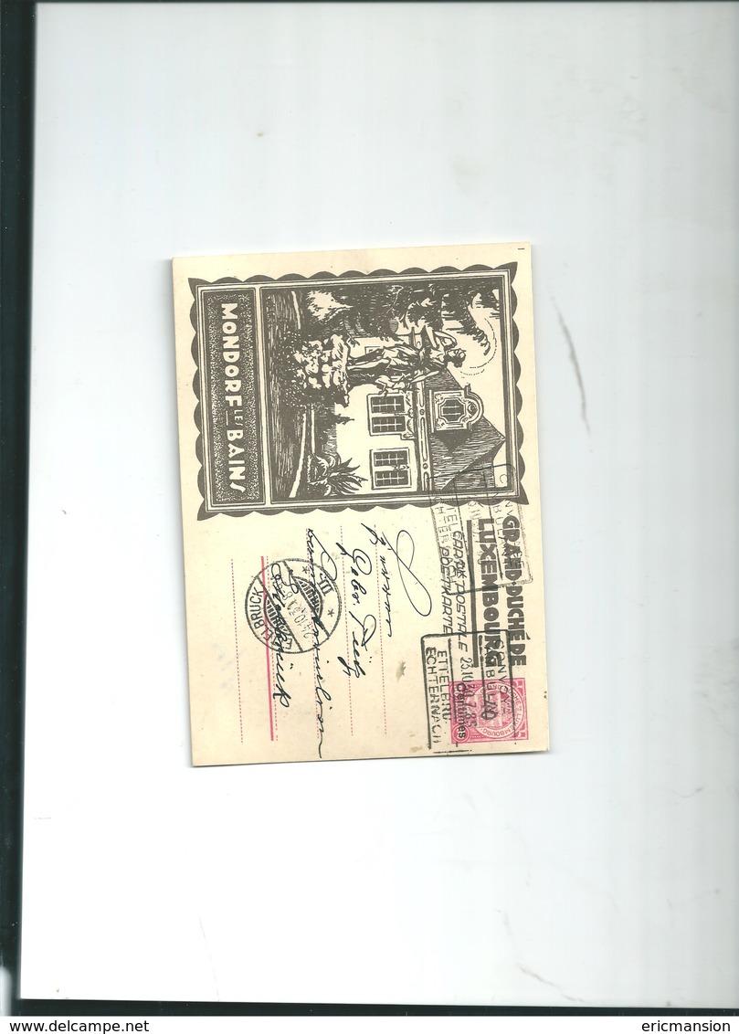 Carte Postal Mondorf Luxembourg 1930 - Bad Mondorf